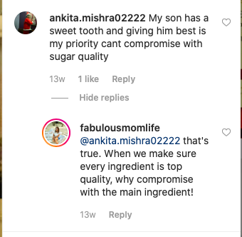 Comments on instagram posts