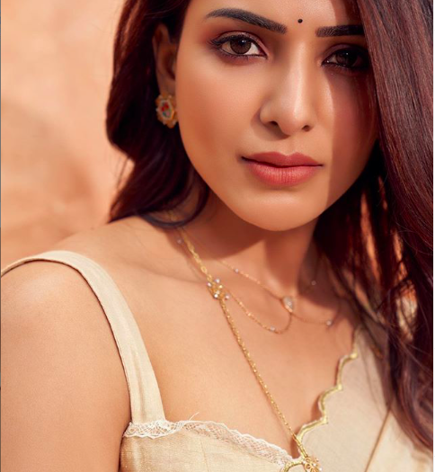 South Indian Influencer Samantha Akkineni