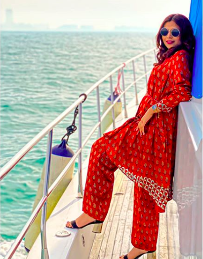 Travel Influencer Deepti Chandak